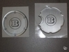BRABUS ORIGINAL. SMART 450 FOR TWO. Cover tank, aerator. SILVER