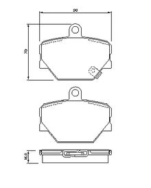 Car sketch also Brake Pad Set Disc Brake P179278 likewise 51117301586 together with News moreover Smart roadster coupe  282005 29. on smart roadster