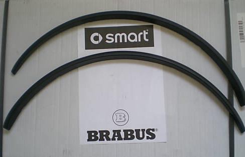 BRABUS ORIGINAL. SMART 450 FORTWO. Rear wings extensions