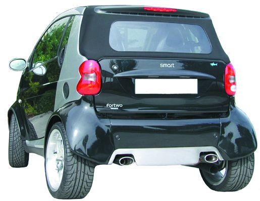 smart 450 fortwo coupe convertible petrol exhaust. Black Bedroom Furniture Sets. Home Design Ideas