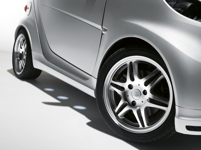 Smart 451 Fortwo Side Skirts