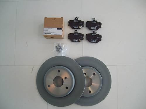 SMART ORIGINAL. SMART 452 ROADSTER. Kit freno delantero