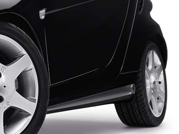 SMART ORIGINAL.  SMART 451 FORTWO. BRABUS side skirts