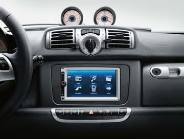 smart 451 fortwo audio system navigation multimedia. Black Bedroom Furniture Sets. Home Design Ideas