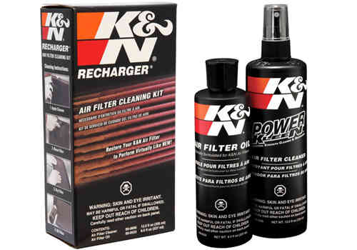 Air filter cleaning kit K&N
